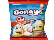 MARSHMALLOWS GONGYS MINI  X 28 GRS B X 48